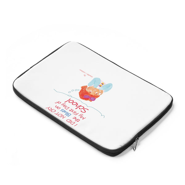 I Did Not Cry the Blues Laptop Sleeve by Author Khalifah I Whitner