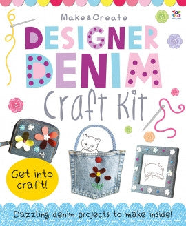 Designer Denim Craft Kit by Top That
