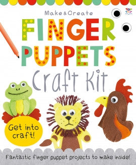 Finger Puppets Craft Kit by Top That