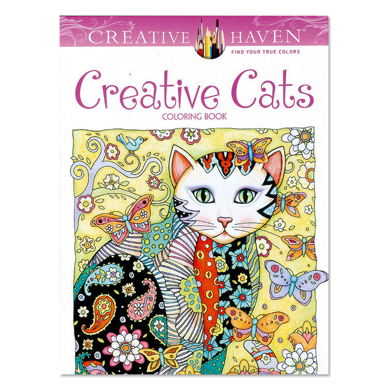 Creative Cats Coloring Book For Children