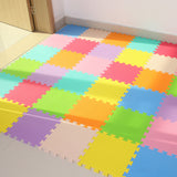 JCC 6pc/set Baby EVA Foam Puzzle Play Mat /kids Rugs Toys carpet for childrens Interlocking Exercise Floor Tiles,Each:30cmX30cm