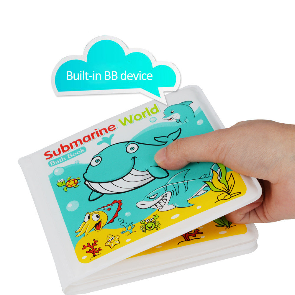 Baby Toys 0-12 Months Books For Babies Waterproof 4 Pages Animal ...