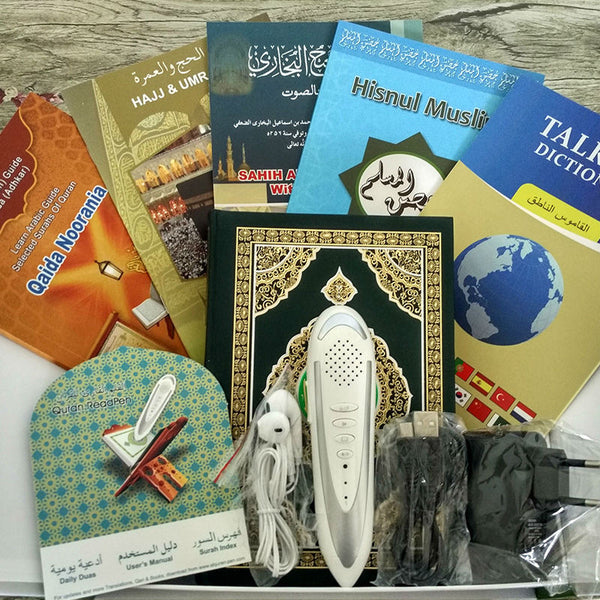 Quran Reading Pen Islamic Products Quran Book in Arabic English Italian Translator Russian Translation Quran Pen Reader