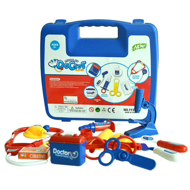 Childrens Kids Role Play Doctor Nurses Toy Set Medical Kit Christmas Gift Dropshipping Free Shipping M18