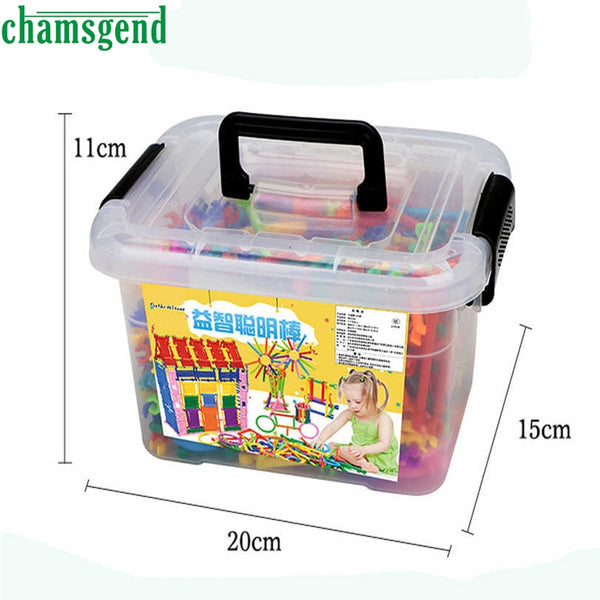 CHAMSGEND 500PCS Hot Sale Mathematical Intelligence Stick Figures Box for Preschool, Elementary