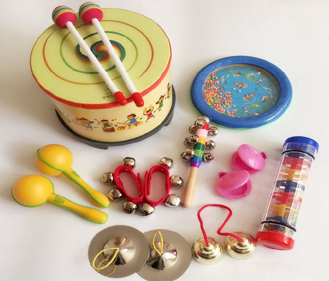 Infant Music Set Chindren Instruments Kid Musical Toy Preschool Percussion Musical Toy Set