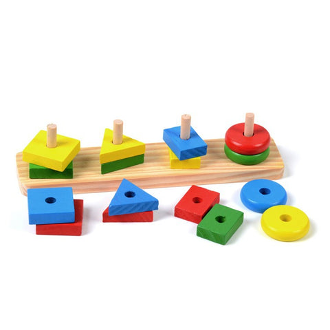 Baby Toy Montessori Sensorial Toys 1 lot =8 pieces Early Childhood Education Preschool Training Kids Toys Brinquedos Juguetes