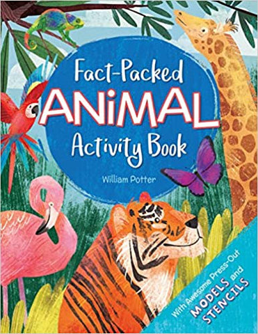 Fact- Packed Animal Activity Book By William Potter