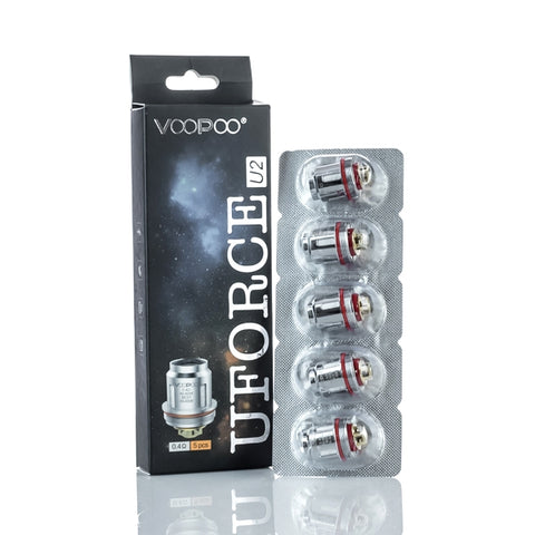 Voopoo Replacement coils - Uforce u2 0.4ohm