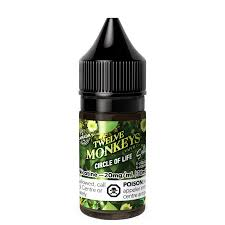 12 Monkeys - Circle of Life Salt Nic