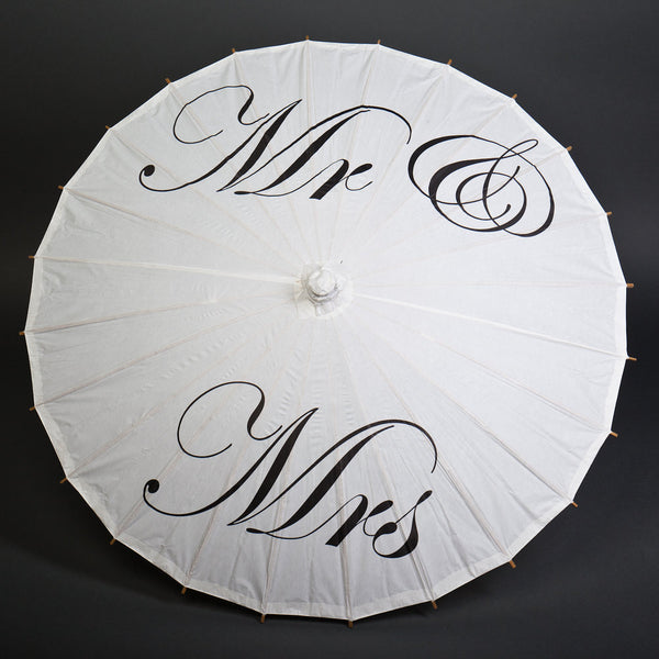 Mr u0026 Mrs Parasol & Props For Wedding Photo Booth - Find Wedding Day Photo Props Now ...