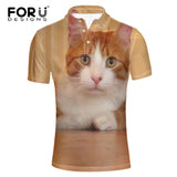 Customize Polos With Your Cats Photo Or Any Image - Cats Love Life