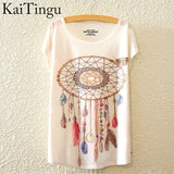 KaiTingu Incredible Art Prints T-Shirt - Cats Love Life
