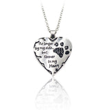No Longer By My Side But Forever In My Heart Necklace - Cats Love Life
