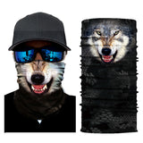 Cat Image Face Mask Scarf