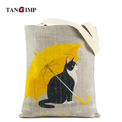 Eco Friendly Reusable Tote Bags In 24 Different Prints - Cats Love Life