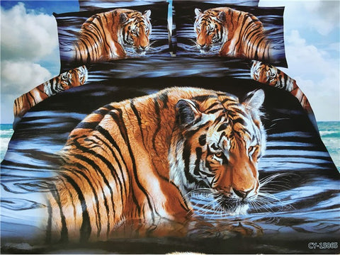 Tiger Bedding Sets In Many Different Styles - Cats Love Life