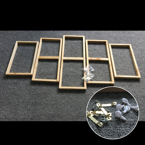Wood Stretcher Frame For 5 Piece Group Paintings - Cats Love Life