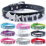 Bling Personalized Cat Collars With Their Name And Charm - Cats Love Life