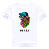 Mens Cool DJ Ca T-Shirt - Cats Love Life