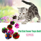Colored Foil Chasing Cat Toy Pack Of Twelve