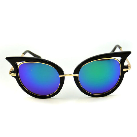 Retro Styling Cat Eye  Sunglasses - Cats Love Life