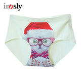 Christmas Panties Cats Meow Seamless Underwear - Cats Love Life