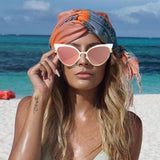 Ready For The Beach Cat Eye Vintage Sunglasses - Cats Love Life