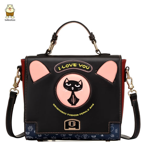 I Love You Cat Handbag - Cats Love Life