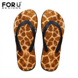 Leopard Print And Other Animal Print Flip Flops - Cats Love Life