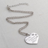 All My Children Have Paws Pendant - Cats Love Life