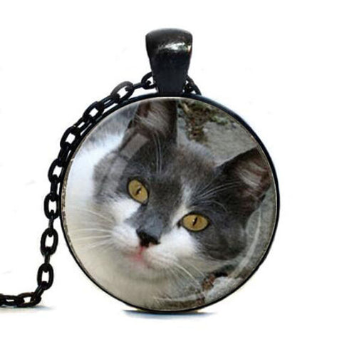 Custom Photo Of Your Cat Pendant - Cats Love Life