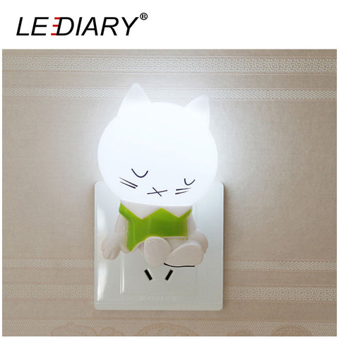Cat LED Night Light With Light Sensing Control - Cats Love Life