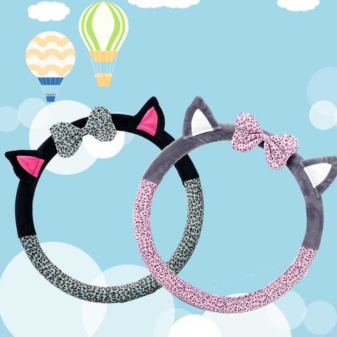 Cute Cat Ear Steering Wheel Cover - Cats Love Life