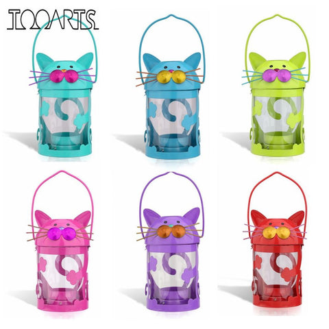 Cat Candle Holder Lanterns - Cats Love Life