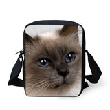 Pick Your Cat Print Messenger Bags - Cats Love Life