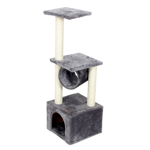 Cat Tree Play House Scratch Post