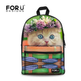 Cute Cat Print Backpacks - Cats Love Life