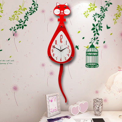 Wag Tail Cat Clock - Cats Love Life
