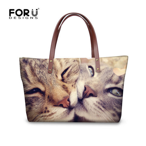 Beautiful Cat Prints On Tote Bags - Cats Love Life