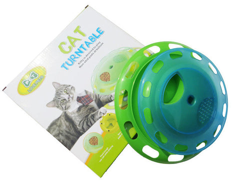 Interactive Turntable Cat Toy - Cats Love Life