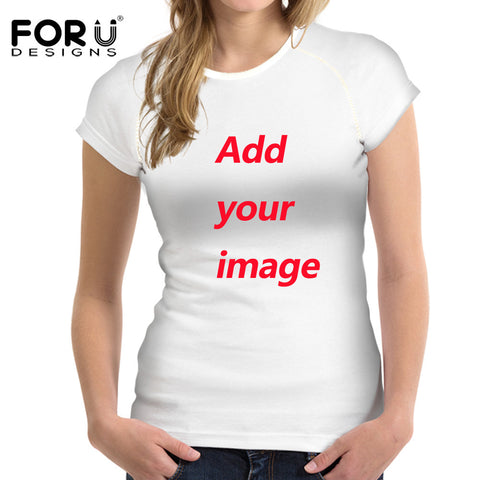 Customize Your Cats Photo Or Any Image Ladies T-Shirt - Cats Love Life
