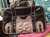Ladies Cat Face Designer Handbag - Cats Love Life