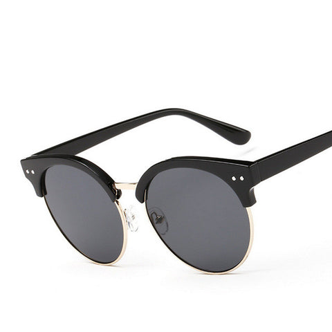 Large Round Cat Eye Sunglasses - Cats Love Life