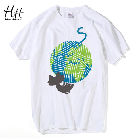 Cats Love Earth And Yarn T-Shirt - Cats Love Life