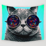 Cool Cats Series Wall Hanging Tapestry - Cats Love Life