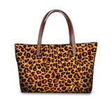 Colorful Leopard Print Tote Bag - Cats Love Life