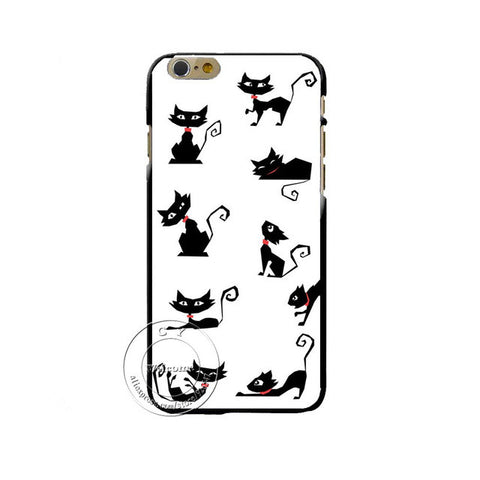 Grumpy Cute Cat PC Hard Case Cover for All iPhones - Cats Love Life