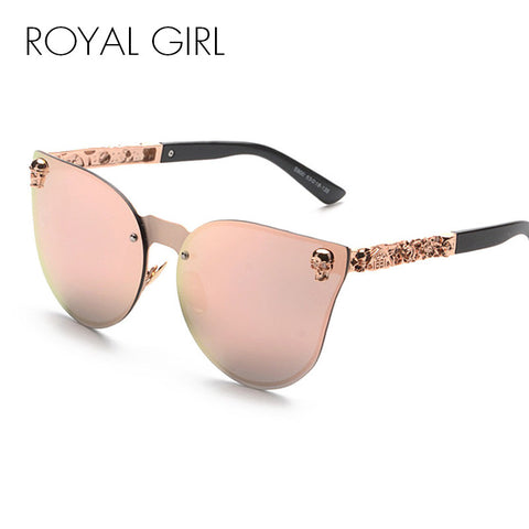 Metal Frame Star Flower Cat Eye Sunglasses - Cats Love Life