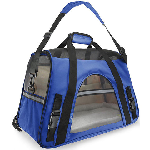 Folding Breathable Microfiber Soft Sided Cat Carrier - Cats Love Life